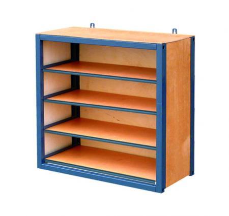 Outifrance 0012324 bloc de rangement haut 3 tag res gamme modulable bois - Bloc etagere modulable ...