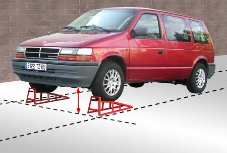 outifrance 1660552 rampe de levage pour voiture charge maxi 1500 kg l outilleur du. Black Bedroom Furniture Sets. Home Design Ideas