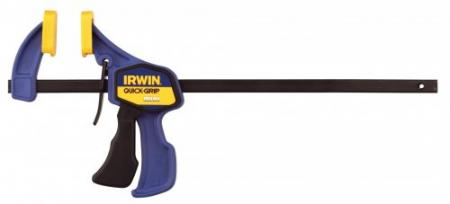 irwin t546el7 serre joint carteur quick grip mini serrage 150mm saillie de 55mm l. Black Bedroom Furniture Sets. Home Design Ideas